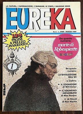 EUREKA # 6 - Max Bunker Press / Marzo 1989