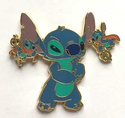 Disney Pin Badge DLRP - Stitch with Devils