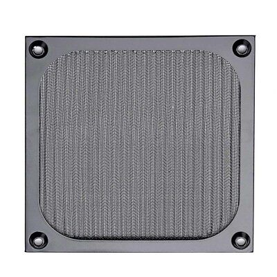120mm Computer Fan Cooling Dustproof Dust Filter Case Aluminum Grill Guar 2018