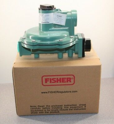 "Emerson Fisher Second Stage LP Gas Regulator 1/2"" x 3/4"" 9-13"" WC 7/32"" R622-CFF"
