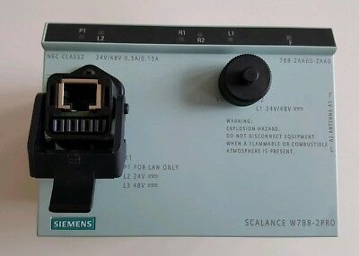 SIEMENS SIMATIC NET IWLAN Dual Access Point SCALANCE W788-2PRO 6GK5788-2AA-2AA0