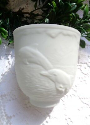 """Lladro  """"Dolphins at Play"""" Votive Candle Holder 1998 Collectors Society"""