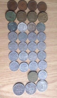 Interesting Job lot of old British Coins