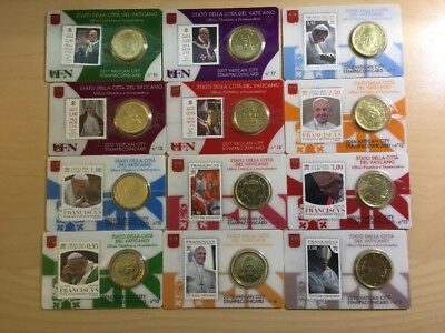 Vatican Coin Cards