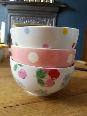 Cath Kidston Cereal Bowls