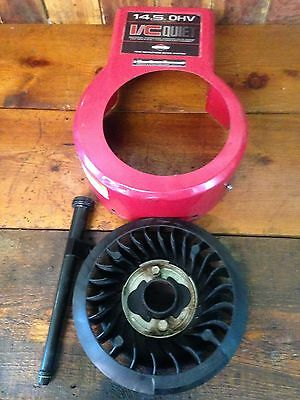 Engine Blower Shroud, Fan and Dip Stick Briggs and Stratton 287707