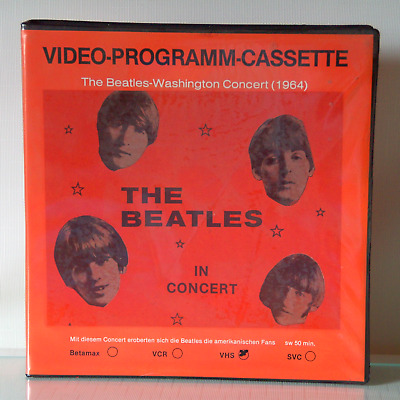 VAF / Inter-Pathe-Film / Video Leerhülle / Beatles Washin Concert / Out of Print