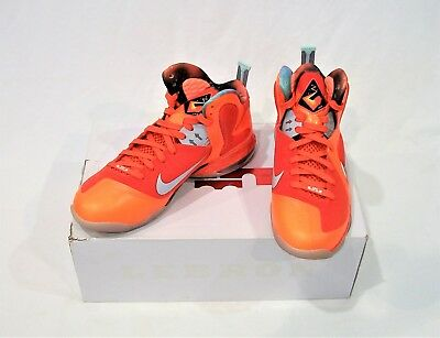 AUTHENTIC NIKE LEBRON 9 AS All STAR BIG BANG GALAXY ORANGE SIZE -11 (520811 a649f32d7