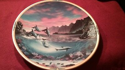 Lenox, a new day,from the sea of dreams plate collection 1994