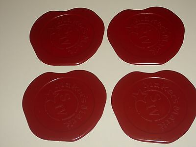 Makers Mark Bourbon Set Of 4 Coasters
