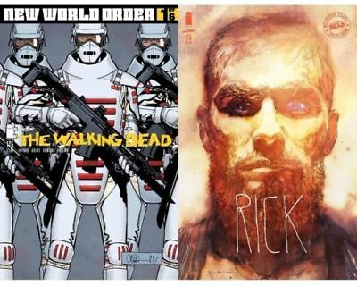 Walking Dead #175  Cvr A&b Sienkiewicz Variant , New World Order