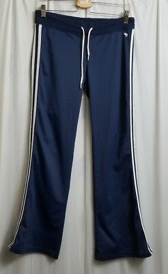 677232a9a4 Abercrombie & Fitch Athletic Pants Women's Small S Blue / White Stripes Yoga