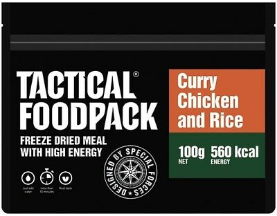 TACTICAL FOODPACK® CURRY CHICKEN AND RICE Outdoor Nahrung Notverpflegung