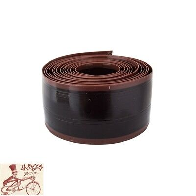 """TWO 2 ROLLS MR TUFFY BICYCLE TIRE LINER BROWN 26 X 1.95-2.5/"""" NEW"""
