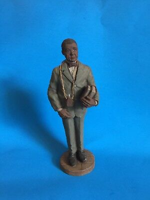 "Sarah's Attic ""booker T Washington""  Resin Figurine-Limited Edition From 1992"
