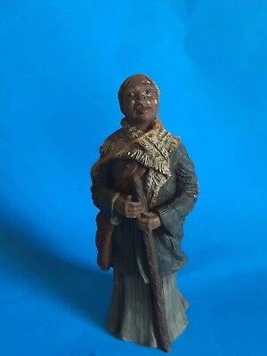 "Sarah's Attic ""harriet Tubman""  Resin Figurine-Limited Edition From 1992"