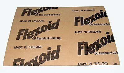Flexoid Gasket Paper Set 5 x A4 Sheets - Various Thicknesses 0.15mm - 1.6mm