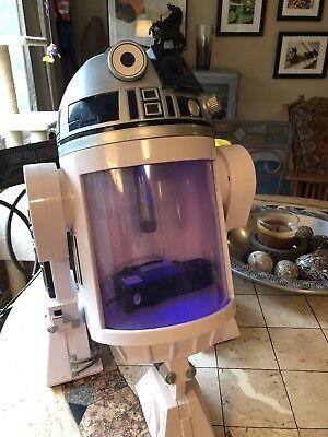 Rare1 8 Gallon Star Wars R2 D2 Robot Fish Tank With Sound Lights