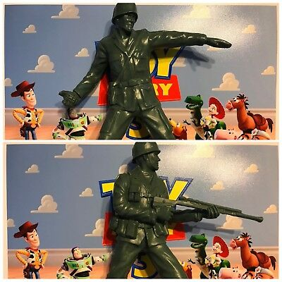 Toy Story Green Army Men Large 7 Inch Figures