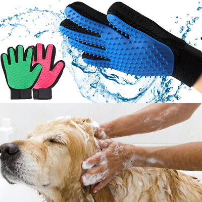 Cleaning Brush Magic Glove Pet Dog Cat Massage Hair Removal Grooming Groomer