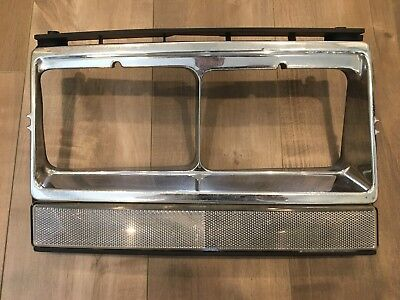 1981 - 1985 Volvo 240 242 244 245 Right Passenger Side Headlight Bezel Surround