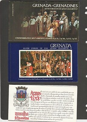 3 MUH Booklets. 2 of 25th. Anniv. the Coronation of Q.E.11.. 1 from Portugal.