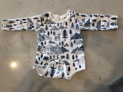 wilson and frenchy Long Sleeve Bodysuit Size 0