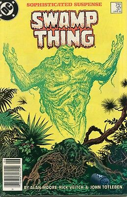 Swamp Thing #37 VF 1985 DC Comic Book
