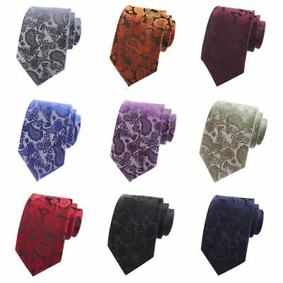 Classic Floral Tie Jacquard Woven Men's Silk Suits Tie Business Working Necktie