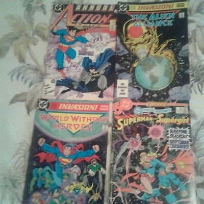Lot of ten Marvel and Dc comics 1970s and 1980s no duplicates