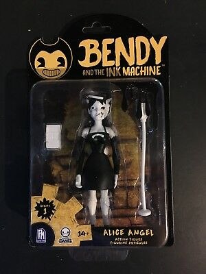 """BENDY AND THE INK MACHINE ALICE ANGEL 5"""" Action Figure The Meatly Games 2018"""