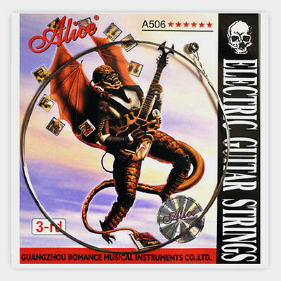10Pcs Alice A506SL-3 Steel Electric Guitar Strings Single Third 3rd String