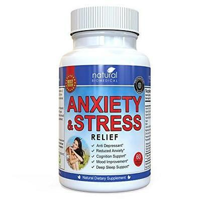 Anti Anxiety and Stress Relief Supplement by Natural Biomedical - All Natural