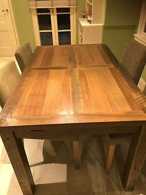 Jimmy Possum Wooden Dining Table Set Seats 6-10 with Extenders