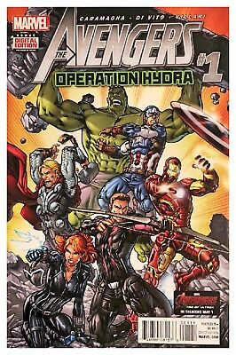 The Avengers Operation Hydra 2015 1 Marvel Comic FV Bagged & Boarded
