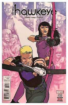 All-New Hawkeye #6 June 2016 Marvel Bagged Boarded Free US Shipping VF/NM