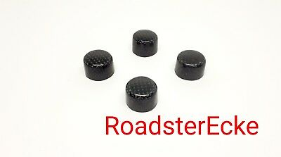 Abdeckung,Heizung/Lüftung, 4er Set,Carbon Smart ForTwo 450+Roadster/Coupe 452