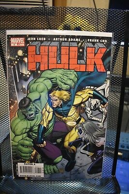 Hulk #8 Arthur Adams Variant Marvel Comics Jeph Loeb Sentry Moon Knight Ms