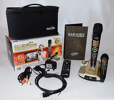 KARAOKE Magic Sing Mikrofon ET-23KH HD mit 1'910 Songs (neuster HIT)