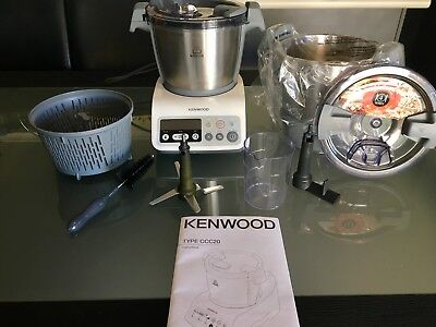 Kenwood's Version Of Thermomix: kCook Food Processor Type CCC20