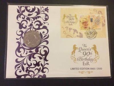 Queen's 90th Birthday Prestige £5 PNC Limited Edition - Only 2500.
