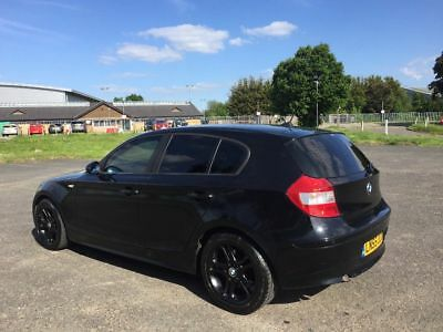 2005 '55' Bmw 120D Auto Diesel Black With Cream Leathers Lady Owner 1 Series