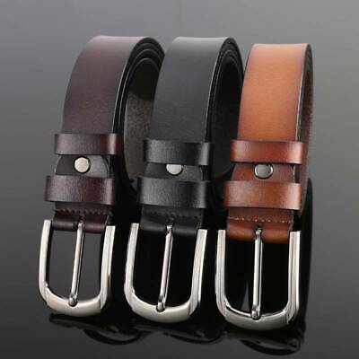 New Quality Genuine Full Grain Leather Men's Belt Australian