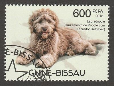 LABRADOODLE** Int'l Dog Postage Stamp  ** Unique Gift*
