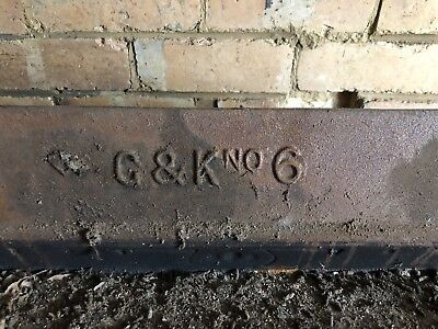 Cast Iron Fireplace G&K No.6