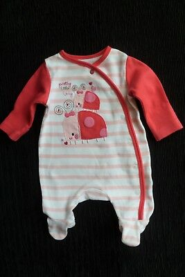 Baby clothes GIRL premature/tiny<7.5lbs/3.4kg bright ladybird babygrow SEE SHOP