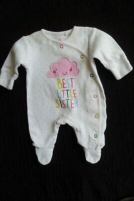 Baby clothes GIRL premature/tiny<7.5lbs/3.4k pink multi fun babygrow SEE SHOP