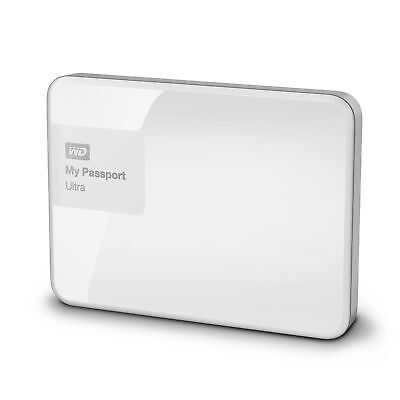 "WD My Passport Ultra 1TB 2.5 ""USB 3.0 External Hard Drive - White`"
