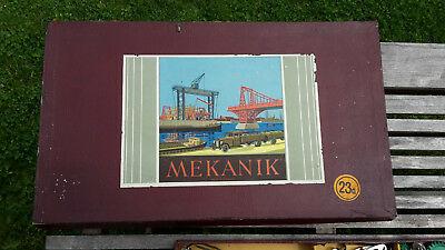 Mekanik, Baukasten, Metal, made in Germany, 23a