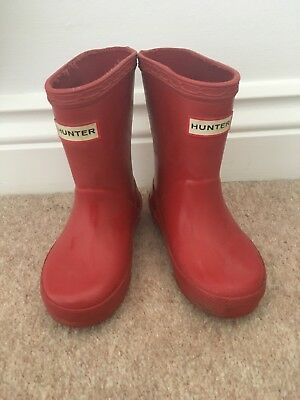 Unisex Hunter Wellies Infant Size 5